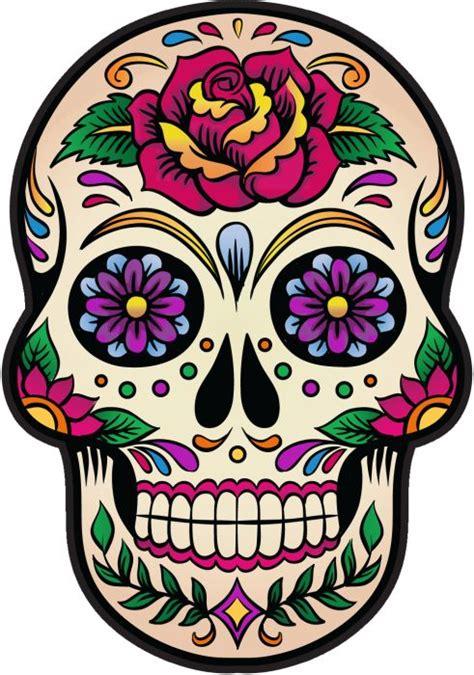 imagenes de calaveras transparentes sticker tete de mort mexicaine recherche google