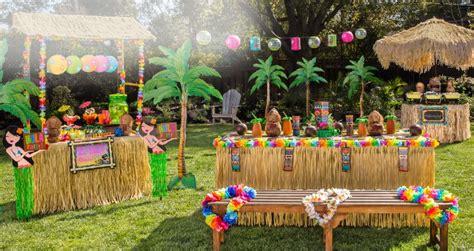 theme names for hawaiian parties luau party supplies hawaiian luau decorations party city