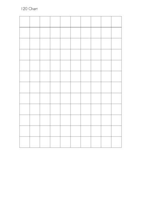 120 Chart Printable