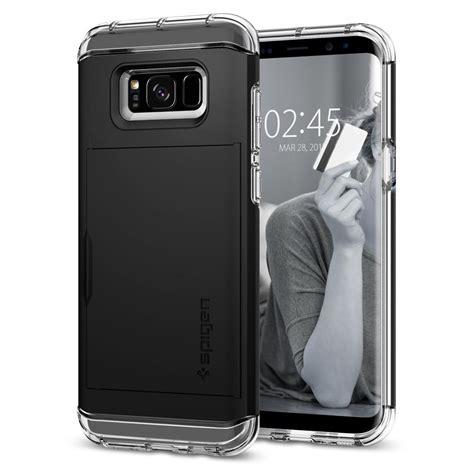 Casecovercasing Untuk Samsung S8 Spigen Black galaxy s8 plus wallet spigen inc
