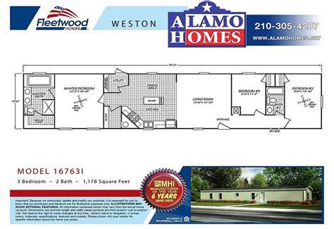 fleetwood manufactured homes floor plans 1993 fleetwood manufactured home floor plans