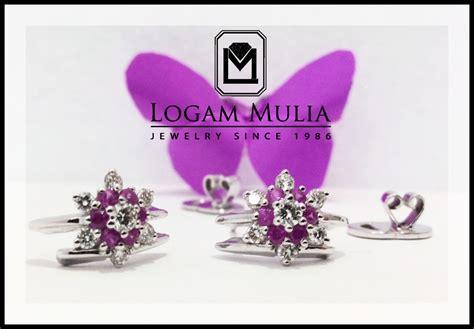 Berlian Medan Anting Padi Padi jual anting anting berlian wanita kas007 004 dde logammuliajewelry