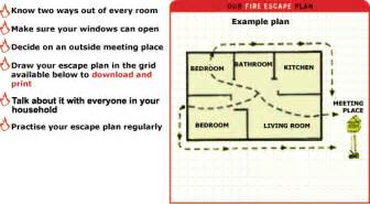 home escape plan home fire escape plan grid instructions fire and