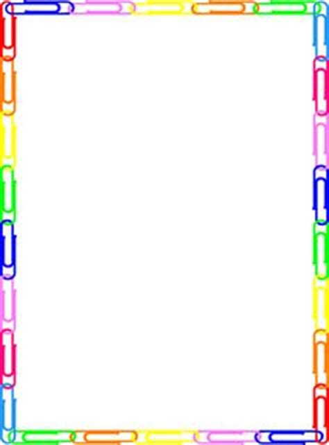 Rainbow Colored Page Border Featuring Abstract Top And Bottom Borders Free Downloads At Http Free Microsoft Word Border Templates