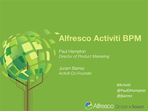 alfresco activiti workflow introduction to alfresco activiti bpm
