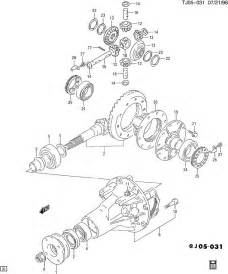differential carrier rear axle gears