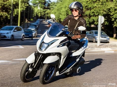 yamaha tricity scooter concept  motorcycle usa