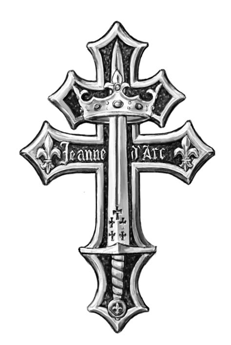 cross of lorraine tattoo templar cross cliparts co
