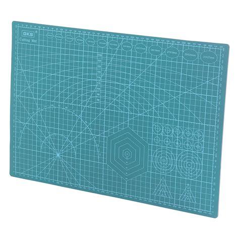 a3 45x30cm pvc self healing cutting mat quilting grid