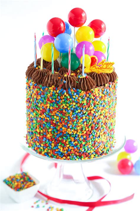 birthday cakes the birthday cake sprinkle bakes
