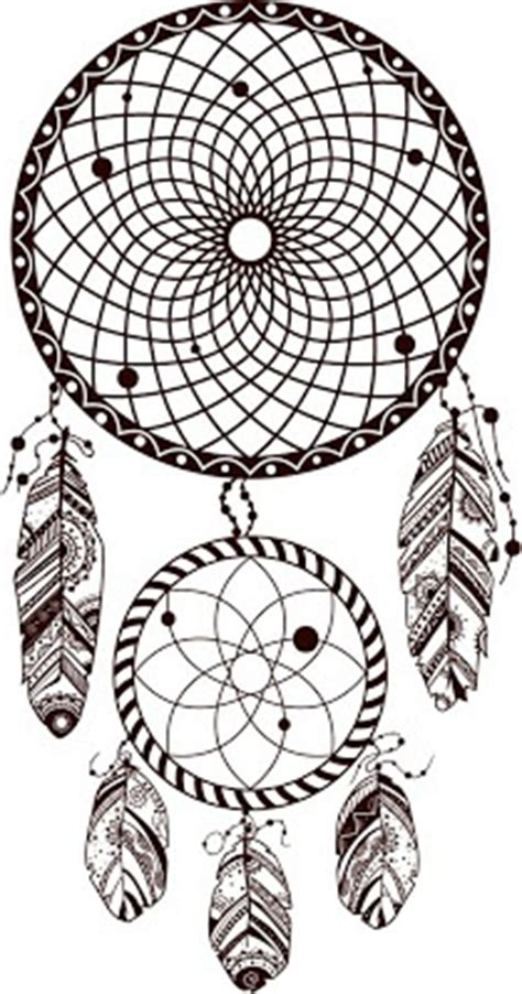 dream catcher tattoo vector dreamcatcher drawings a collection of ideas to try about