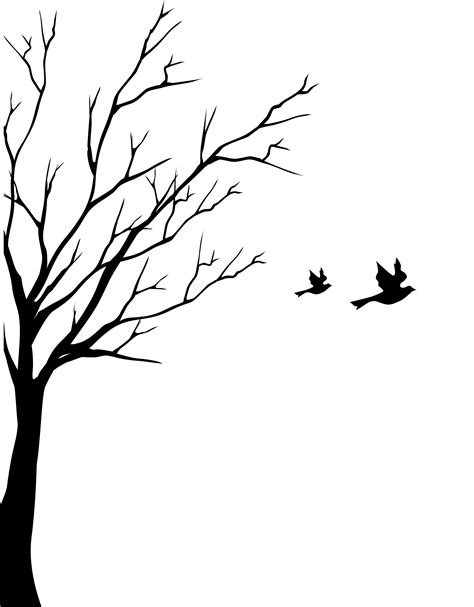tree turning into birds drawing photos good pix gallery