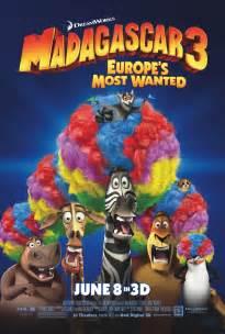 madagascar 3 movie circus afro 3rd movie