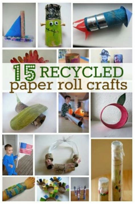 Things To Make Out Of Paper Towel Rolls - kid activities and craft