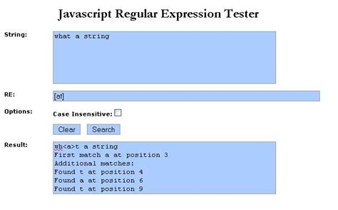 using regular expression in javascript codeproject picture suggestion for regular expression in javascript