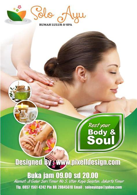 desain brosur spa desain brosur spa salon kecantikan image 4371860 by
