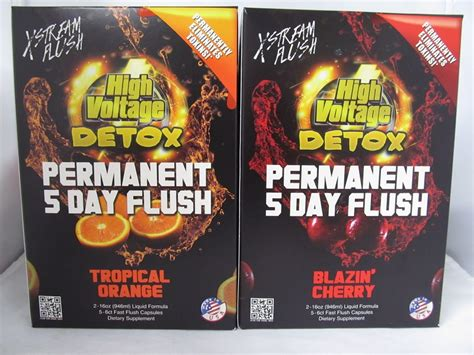 High Voltage Detox Permanent 5 Day Flush Reviews by High Voltage Permanent 5 Day Flush Detox System