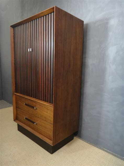 rosewood and walnut wardrobe bureau retrocraft