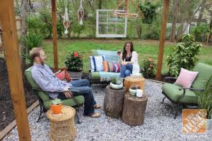 Ideas For A Small Bedroom Makeover - backyard makeover pergola with bohemian style the home depot