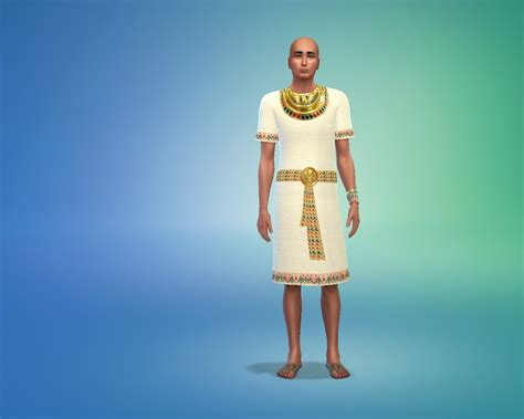 with the gods clothing my sims 4 blog ancient egyptian clothing for males by