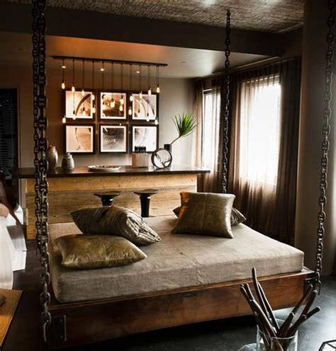 suspended bedroom beautiful contemporary bedroom with stylish hanging bed