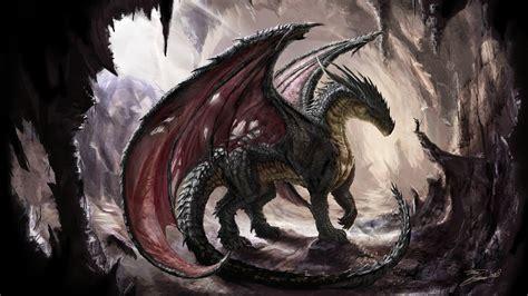 wallpaper dark dragon download 1920x1080 hd wallpaper black dragon cave desktop