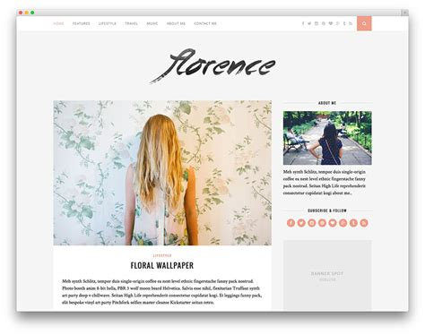 layout for blog 20 best fashion blog magazine wordpress themes 2017