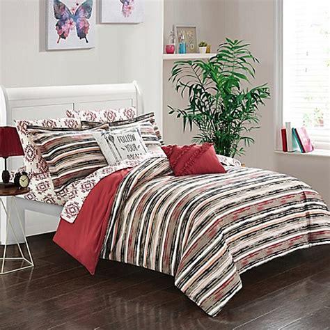 bed bath beyond chelsea buy chic home chelsea 7 piece twin reversible comforter
