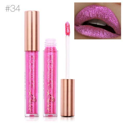 Focallure Lipcream Matte Shade 51 focallure 6 colors metallic matte lip gloss liquid glitter lipsticks cosmetics makeup at