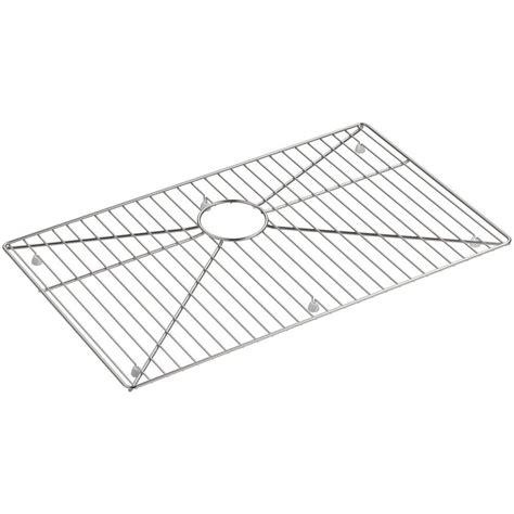 blanco stainless steel racks kohler strive 26 3 4 in x 16 in bowl rack in