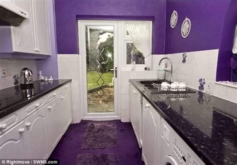 Kitchen Cabinets For Sale By Owner by Ordinary Looking House Is Decorated Entirely In Purple