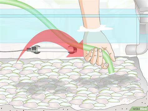 come pulire la ghiaia dell acquario 27 passaggi