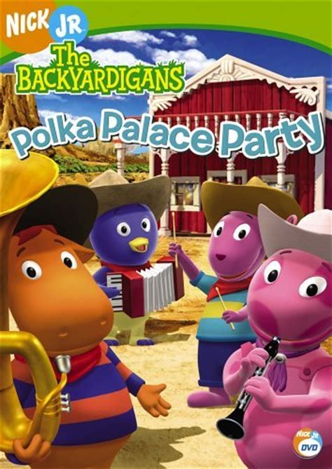 Backyardigans Polka Palace Dvd Polka Palace Dvd The Backyardigans Wiki Fandom