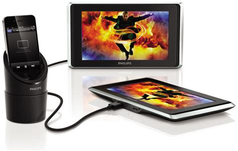 Brenthaven Ipod For Stand Up Viewing by Philips Pv9002i 37 Twinplay 9 Inch Dual Screen