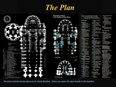 Floor Plan App Free st denis paris the beginning of the gothic architecture