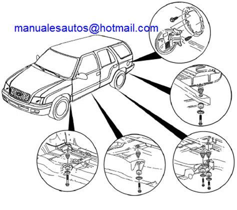 service manuals schematics 2004 chevrolet blazer electronic valve timing manual de reparacion chevrolet blazer 2004 2005 2006