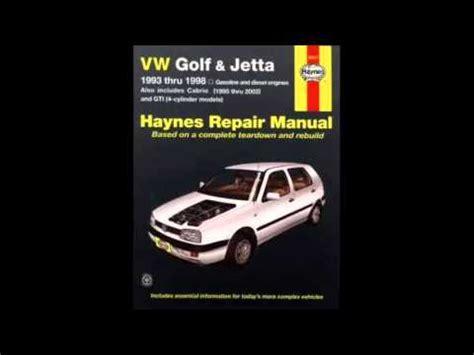 1998 volkswagen jetta transmission service repair manuals vw golf jetta 1993 thru 1998 haynes repair manual youtube