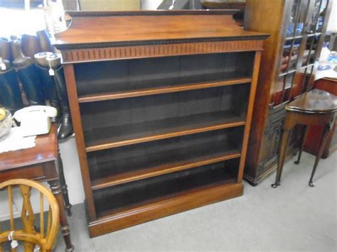 walnut bookshelves walnut open bookshelves 437063 sellingantiques co uk