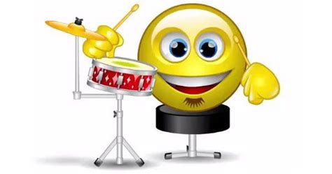 Topsoundsaudio Faces Drum Kit drummer animated smiley drummers and smileys
