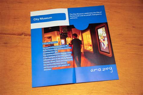 leaflet design portsmouth design of portsmouth s free museums leaflet