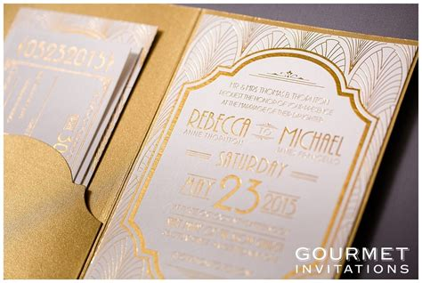 Wedding Deko by Deco Wedding Invitations Gourmet Invitations