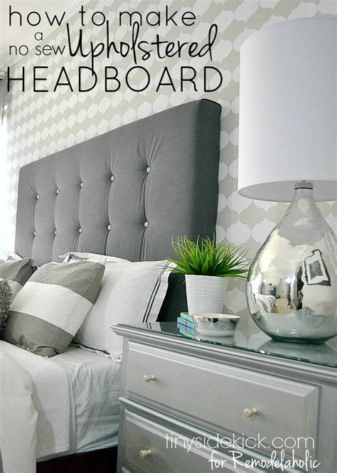 Diy Upholstered Headboard King by Best 25 King Upholstered Headboard Ideas On