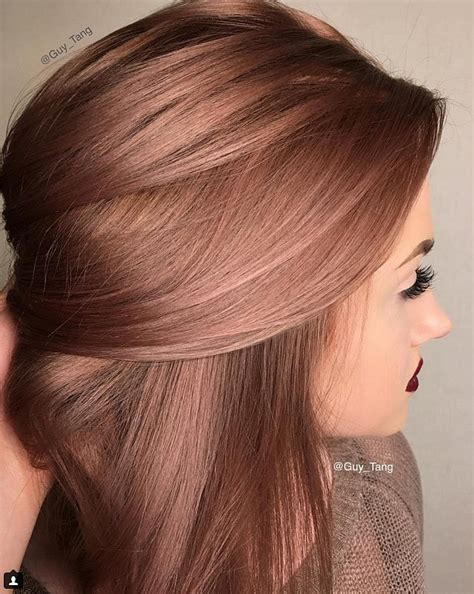 rosegold haircolor concrete proof that rose gold is the still perfect rainbow