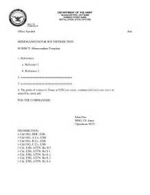 army memorandum template affordablecarecat