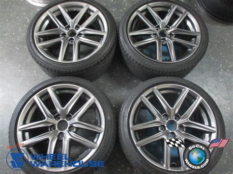 lexus is250 stock rims 2014 2015 lexus is250 is350 f sport 18 wheels tires oem