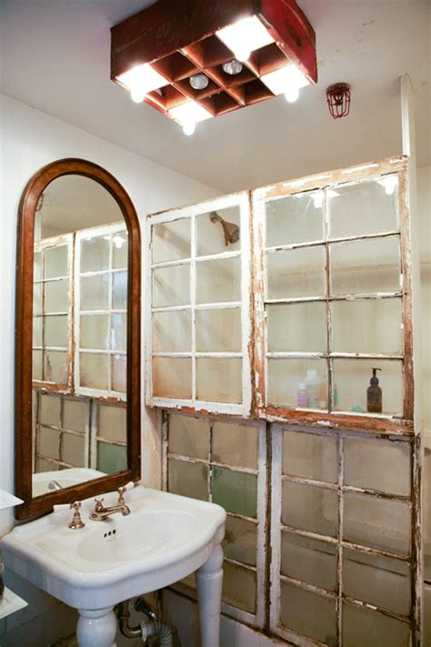 cool shower doors 10 unique repurposed windows