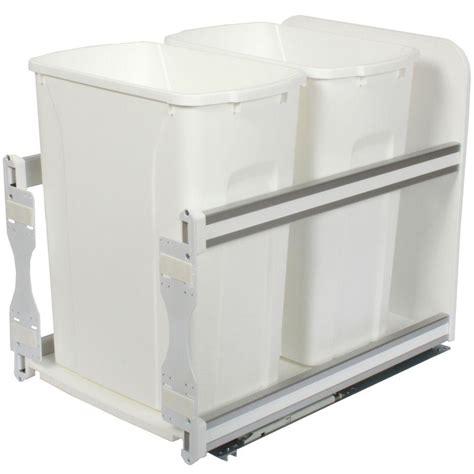 15 inch trash cabinet knape vogt 18 in h x 15 in w x 22 in d plastic in