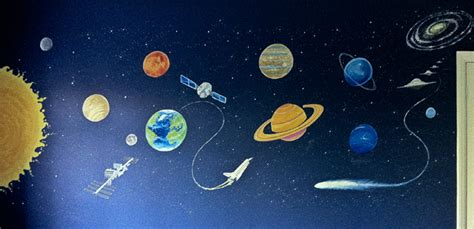 space themed wall murals childrens murals wall paintings for childrens bedrooms and nurseries by mural artist