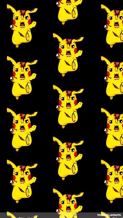 theme line android pikachu zombie pikachu pokemon whatsapp wallpaper monster