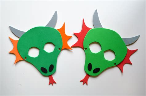 printable masks dragon monthly book club dragons love tacos